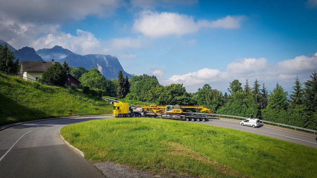 Une 2+4 VarioMAX pour franchir les montagnes autrichiennes