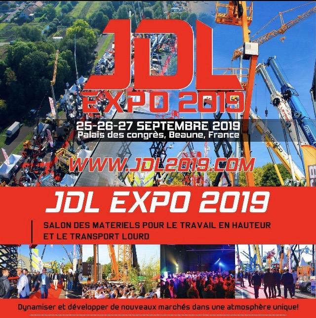 JDL EXPO 2019 Rendez-vous le 25/26/27 Septembre à Beaune
