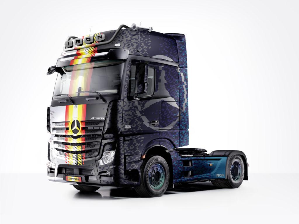 L'Actros Iron en vedette au Grand-Prix Camions du Castellet