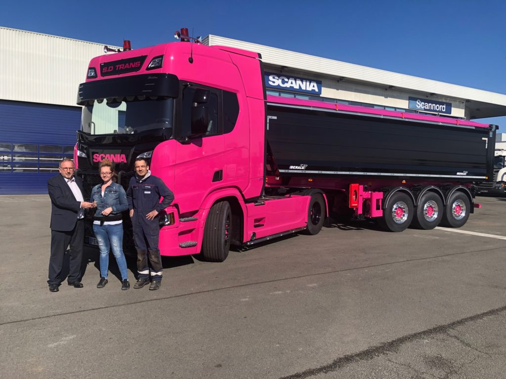 Un Scania R 450 « unique » pour SD Trans