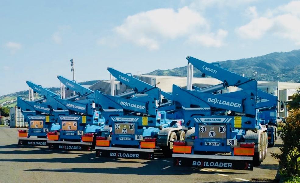 Pôle Logistique Réunion livré de ses nouveaux chargeurs Boxloader