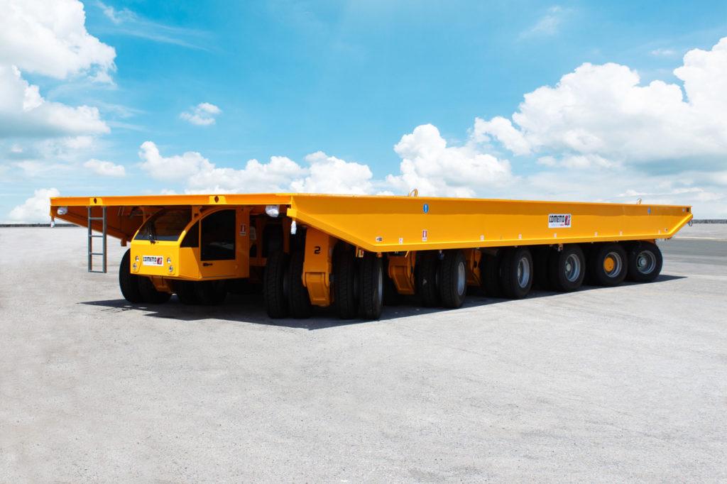 Cometto livre un transporteur de plus de 410 tonnes de charge sur un chantier naval polonais