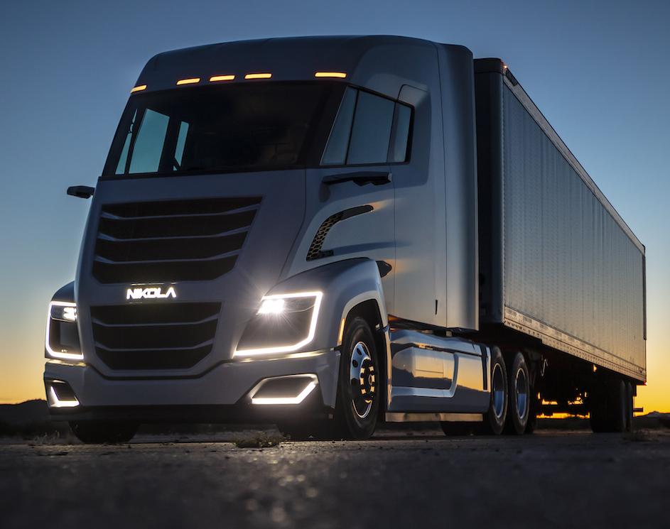 Iveco s'associe à Nikola pour le développement  de camions électriques ou à hydrogène