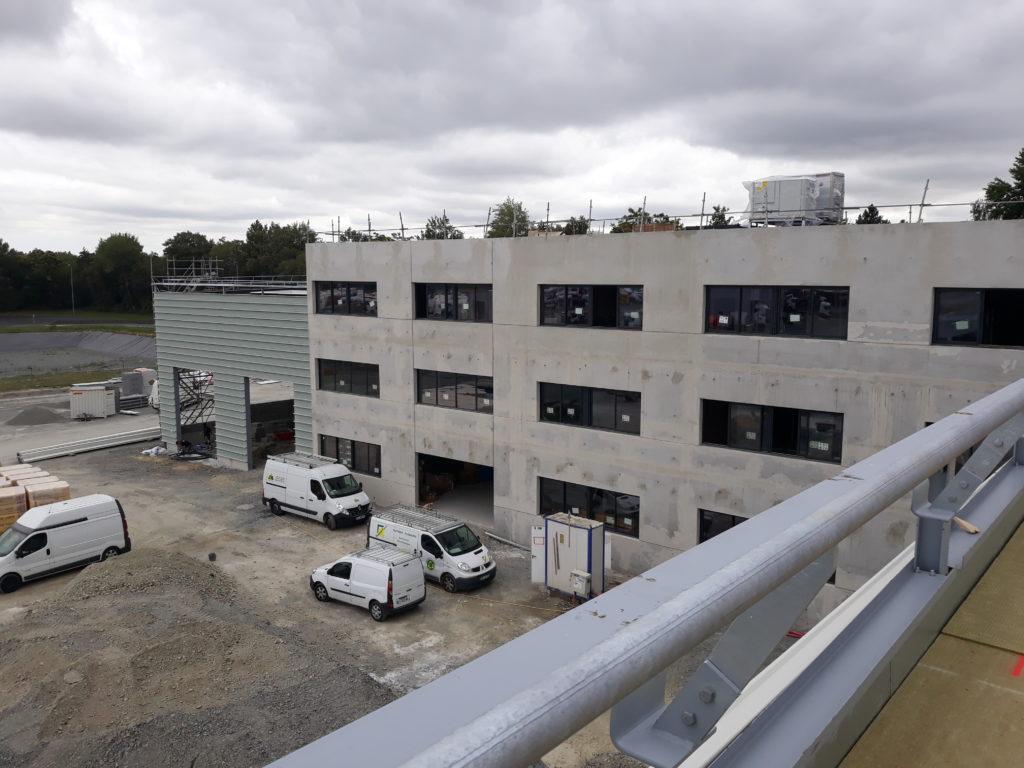 Scania : le centre de préparation avance !
