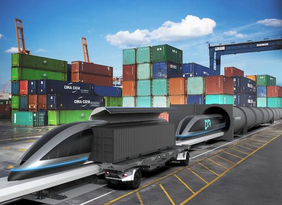 Gaussin signe un partenariat avec HyperloopTT