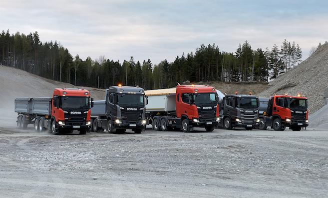 Année record pour Scania France