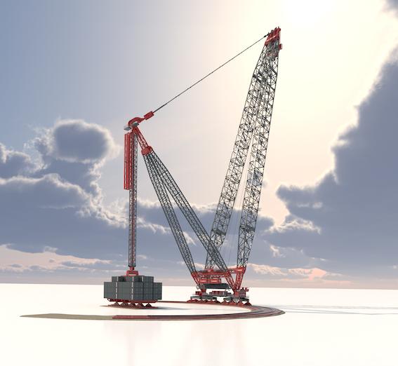MAMMOET, AVEC LA SK6000, REPOUSSE LES LIMITES DE LA CONSTRUCTION